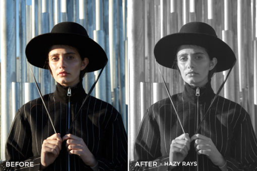 Hazy Rays - Editorial Series-B+W-Capture One Styles-FilterGrade