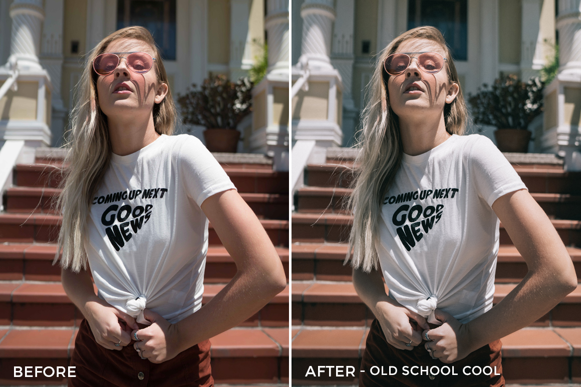 Old School Cool - Sean Dalton Classic Portrait Preset Pack - FilterGrade