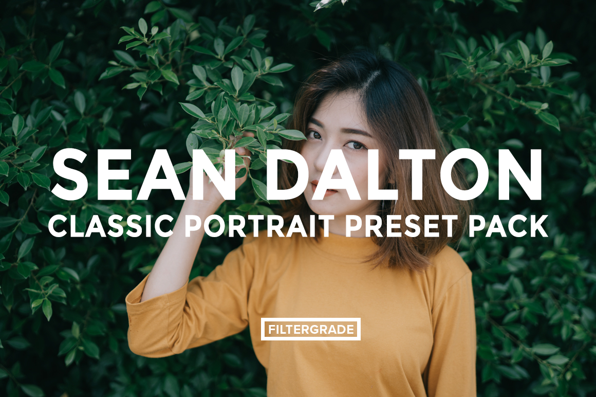 Featured - Sean Dalton Classic Portrait Preset Pack - FilterGrade
