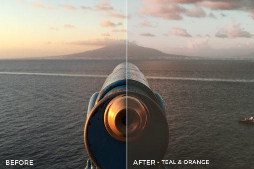 Teal & Orange - Dylan Sanfilippo Lightroom Presets - FilterGrade
