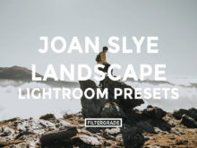 Featured - Joan Slye Landscape Lightroom Presets - FilterGrade