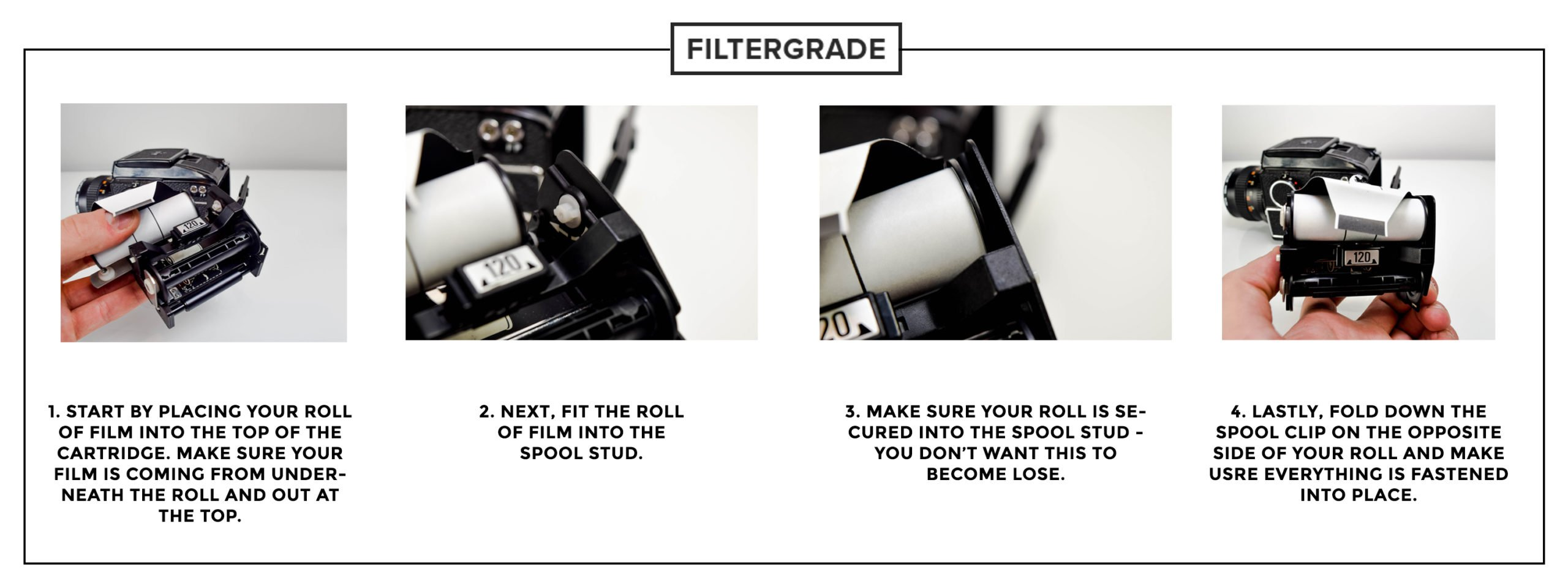 1 Demo - How to Load 120mm Film into Your Mamiya M645 - Film Photography - Filtergrade