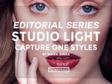 FEATURED - Editorial Series- Studio Light Capture One Styles - Mark Binks - FilterGrade