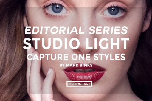 FEATURED - Editorial Series- Studio Light Capture One Styles - Mark Binks - FilterGrade