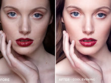 Cool Evening - Editorial Series- Studio Light Capture One Styles - Mark Binks - FilterGrade