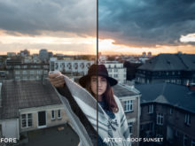 Roof Sunset - Kopernikk Lightroom Presets - FilterGrade