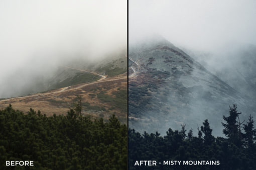 Misty Mountains - Kopernikk Lightroom Presets - FilterGrade