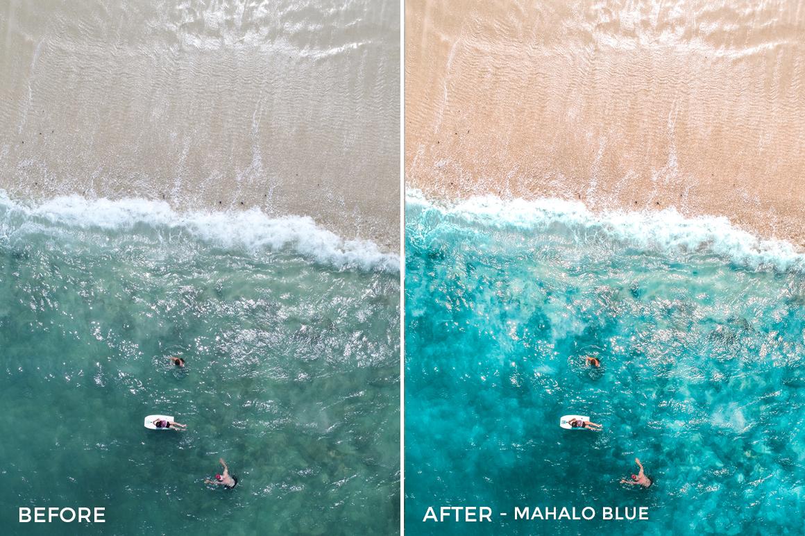 Mahalo Blue - Austin Welch Lightroom Presets - FilterGrade