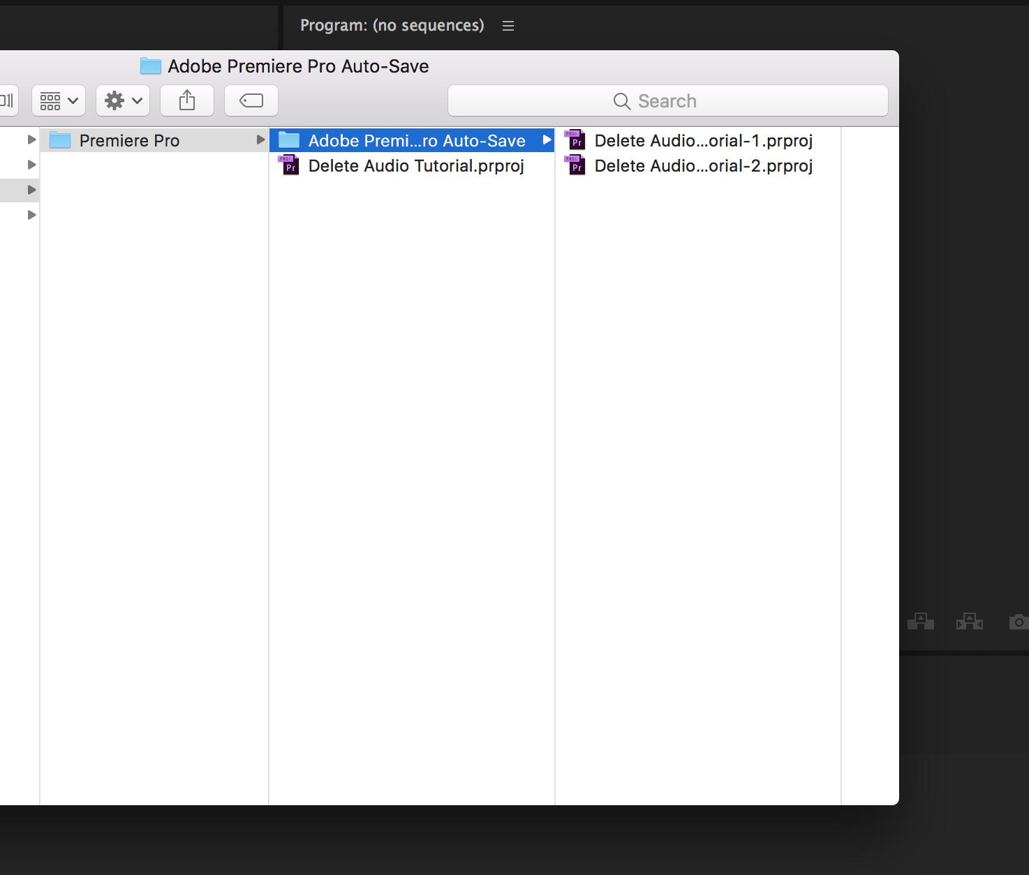 Using the Auto Save Feature in Premiere Pro - FilterGrade