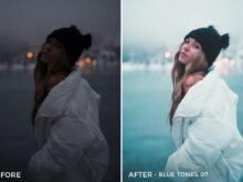 Blue Tones 7 - Aitor Carrera Lightroom Presets - FilterGrade