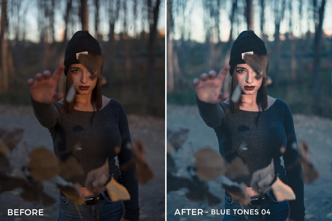 Blue Tones 4 - Aitor Carrera Lightroom Presets - FilterGrade