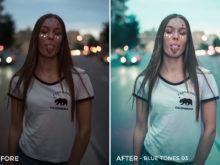 Blue Tones 3 - Aitor Carrera Lightroom Presets - FilterGrade