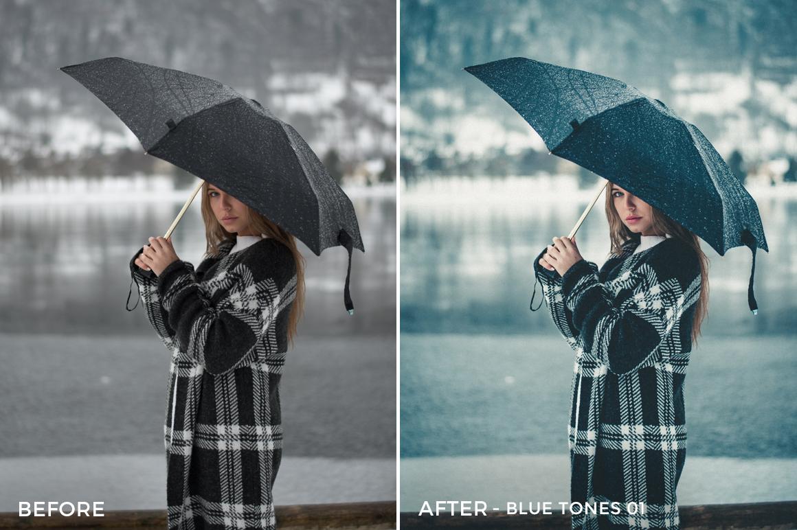Blue Tones 1 - Aitor Carrera Lightroom Presets - FilterGrade