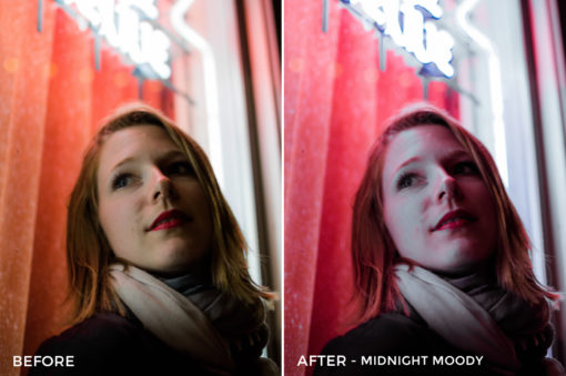 Midnight Moody - Tiffany Chen Nighttime Lightroom Preset - FilterGrade