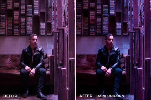 Dark Unicorn - Tiffany Chen Nighttime Lightroom Preset - FilterGrade