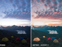 Sunset 2 - Jackson Groves Lightroom Presets - FilterGrade