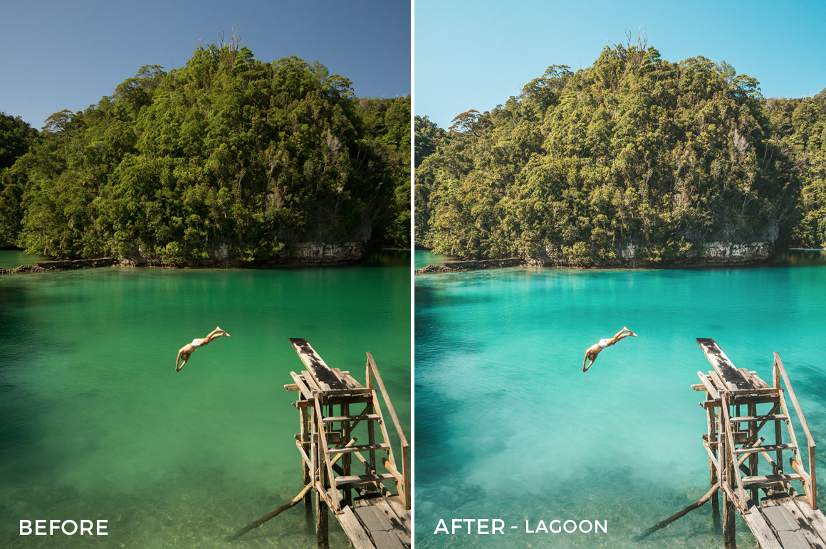 Lagoon - Jackson Groves Lightroom Presets - FilterGrade