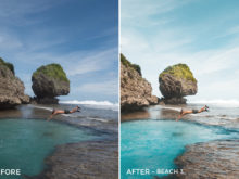 Beach 3 - Jackson Groves Lightroom Presets - FilterGrade