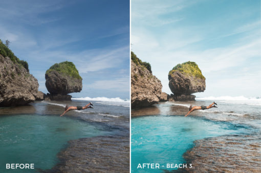 Beach 3 - Jackson Groves Lightroom Presets - FilterGrade