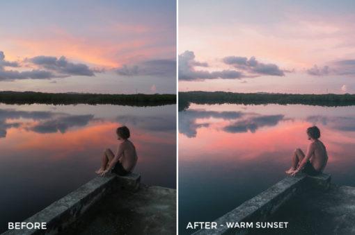 Warm Sunset - Joshua Lynott Lightroom Presets - FilterGrade