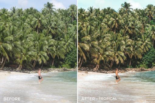 Tropical - Joshua Lynott Lightroom Presets - FilterGrade
