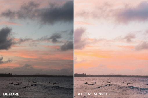 Sunset 2 - Joshua Lynott Lightroom Presets - FilterGrade