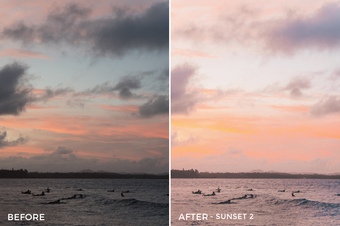 Sunset 2 - Joshua Lynott Lightroom Presets - FilterGrade