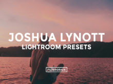 Featured - Joshua Lynott Lightroom Presets - FilterGrade