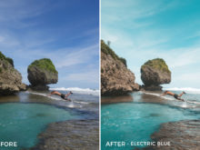 Electric Blue - Joshua Lynott Lightroom Presets - FilterGrade