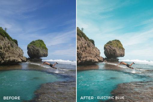 Electric Blue - Joshua Lynott Lightroom Presets - FilterGrade