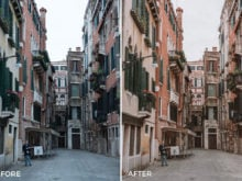 7 Venice Lightroom Presets - Tasos Pletsas - FilterGrade