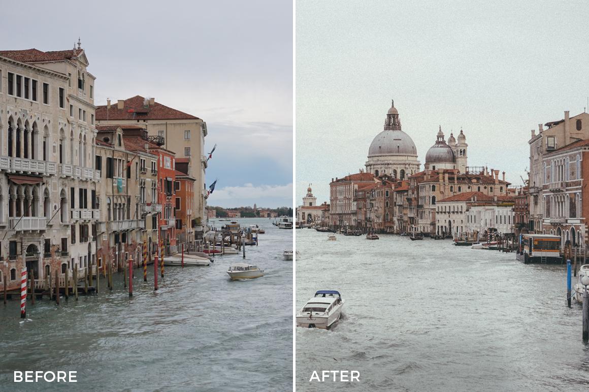 5 Venice Lightroom Presets - Tasos Pletsas - FilterGrade
