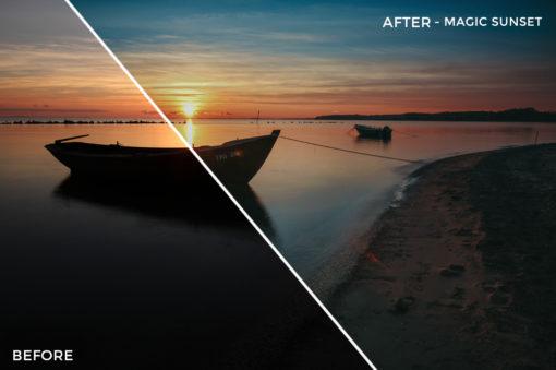 Magic Sunset - Luca Habermann Lightoom Presets - FilterGrade