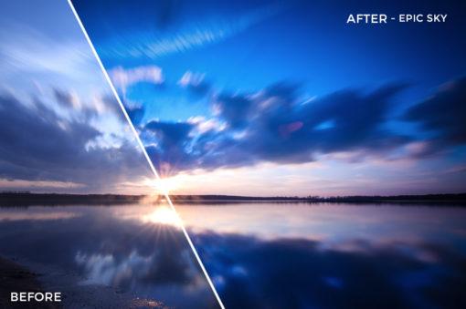 Epic Sky - Luca Habermann Lightoom Presets - FilterGrade
