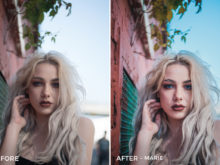 Marie - Sharath Nair Lightroom Presets - FilterGrade