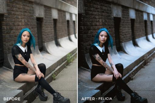 Felicia - Sharath Nair Lightroom Presets - FilterGrade