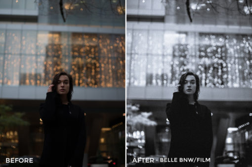Belle BNW Film - Sharath Nair Lightroom Presets - FilterGrade