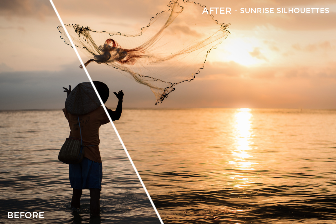 Sunrise SIlhouettes - Sabrina Binkert Lightroom Presets - FilterGrade