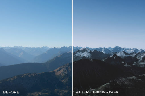 Turning Back - Stephen Karg Xtravagant Design Essential Lightroom Presets Collection - FilterGrade