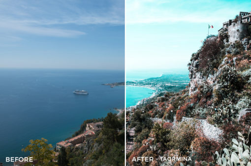 Taormina - Stephen Karg Xtravagant Design Essential Lightroom Presets Collection - FilterGrade