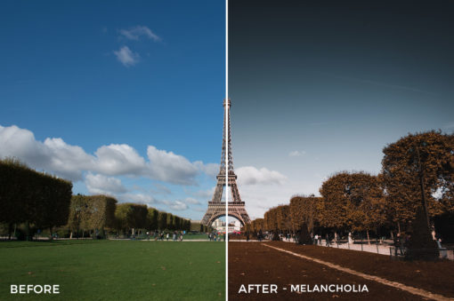 Melancholia - Stephen Karg Xtravagant Design Essential Lightroom Presets Collection - FilterGrade