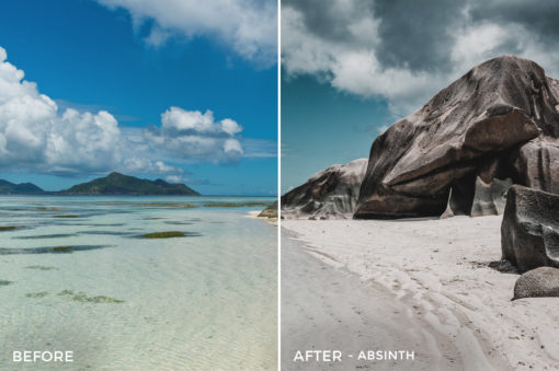 Absinth - Stephen Karg Xtravagant Design Essential Lightroom Presets Collection - FilterGrade