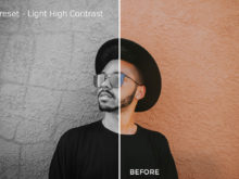 Light High Contrast - Exposure Empire B&W Lightroom Presets - FilterGrade