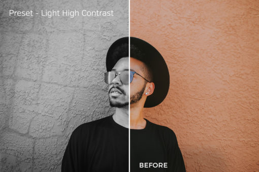 Light High Contrast - Exposure Empire B&W Lightroom Presets - FilterGrade