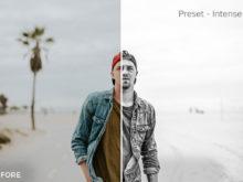 Intense 2 - Exposure Empire B&W Lightroom Presets - FilterGrade