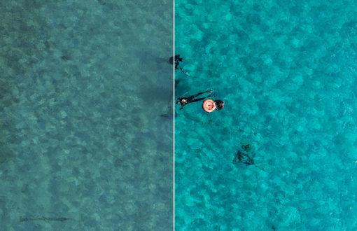 aerial ocean lightroom preset