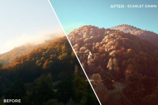 Scarlet Dawn - Adventure Series - True North Capture One Styles by Mark Binks - FilterGrade