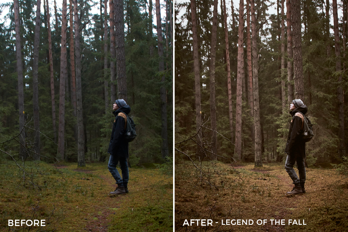 Legend of the Fall- Adventure Series - True North Capture One Styles by Mark Binks - FilterGrade