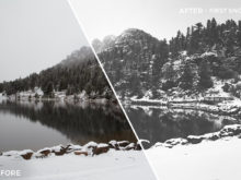 First Snow - Adventure Series - True North Capture One Styles by Mark Binks - FilterGrade