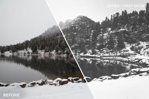 First Snow - Adventure Series - True North Capture One Styles by Mark Binks - FilterGrade